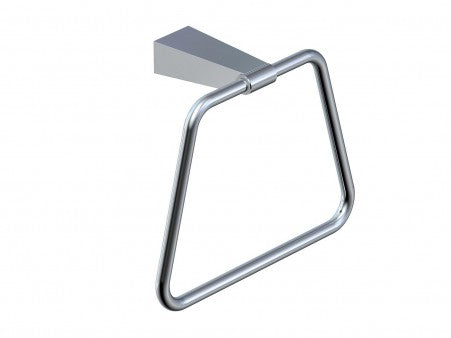 KARTNER   190464  BARCELONA - TOWEL RING  - POLISHED CHROME - FaucetMart