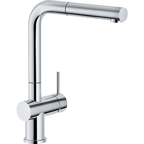 FRANKE  FF3800  ACTIVE PLUS PULL OUT SPRAY FAUCET, CHROME FINISH - FaucetMart