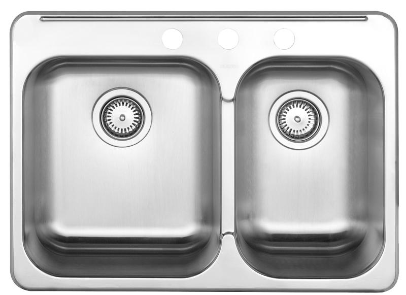 BLANCO  401014   HORIZON 1.5 (3 holes) Stainless Steel sink - FaucetMart