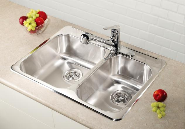 BLANCO  408019   HORIZON 1.5 (1 hole) Stainless Steel sink - FaucetMart