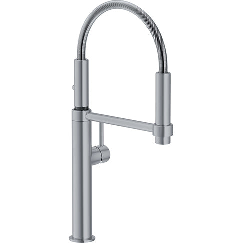 FRANKE  FF4400  FRANKE PESCARA KITCHEN FAUCET,18 1/8 TALL PULL DOWN, POLISHED CHROME FINISH - FaucetMart