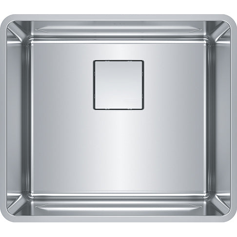 FRANKE  PTX110-20-CA    PESCARA SINK, 18 GA, 17X19 1/2 SINGLE, 20 MM CORNERS - FaucetMart