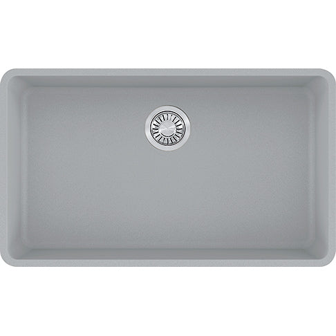 FRANKE  KBG110-31CH    KUBUS GRANITE - UNDERMOUNT SINK SINGLE,  CHAMPAGNE - FaucetMart