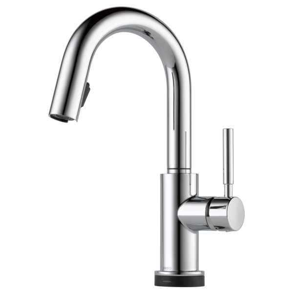 BRIZO 64920LF SINGLE HANDLE SINGLE HOLE PULL-DOWN PREP WITH SMARTTOUCH® TECHNOLOGY - FaucetMart
