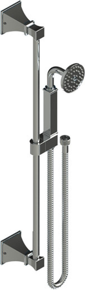 RUBINET MATTHEW QUINN 28MQL TEMPERATURE CONTOL SHOWER WITH TWO WAY DIVERTER & SHUT-OFF, WITH ONE SEPERATE VOLUME CONTROL, HAND HELD SHOWER, BAR, INTEGRAL SUPPLY WALL MOUNT BIDET/FOOT RINSE & FIXED SHOWER HEAD & ARM 8