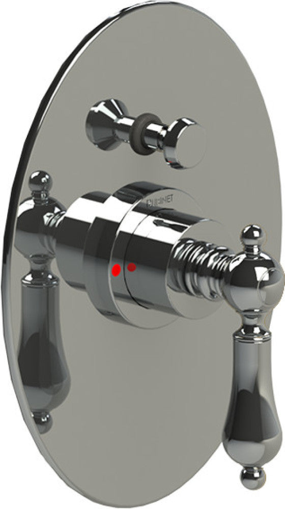 RUBINET Romanesque 212RML PRESSURE BALANCE SHOWER WITH FIXED SHOWER HEAD & ARM, HAND HELD SHOWER, BAR & INTEGRAL SUPPLY 8