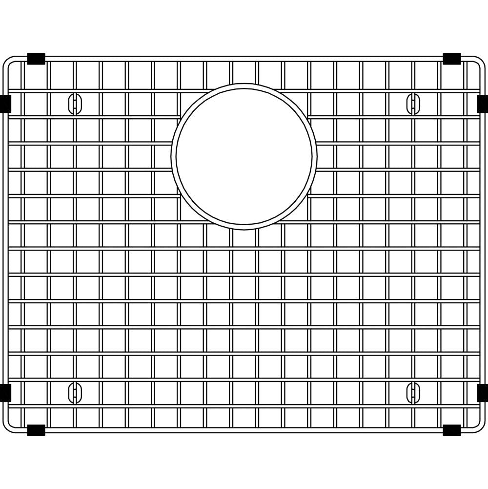 BLANCO  406445    SINK GRID, STAINLESS STEEL