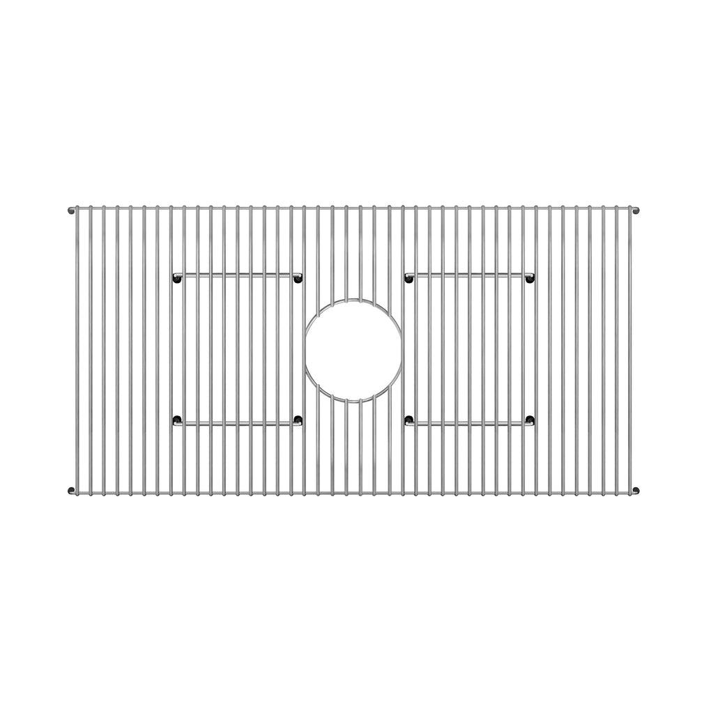 WHITEHAUSE GR3214 Stainless Steel Sink Grid for use with Fireclay Sink Model WHQ536 - FaucetMart