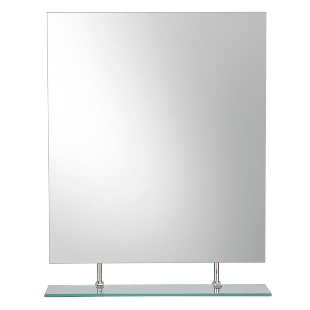 Mirror with Hanging Bottom Shelf M00147V - FaucetMart