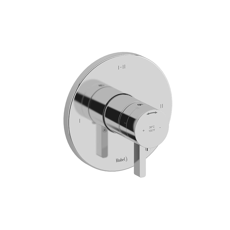RIOBEL PXTM23 2-WAY TYPE T/P (THERMOSTATIC/PRESSURE BALANCE) COAXIAL COMPLETE VALVE - FaucetMart