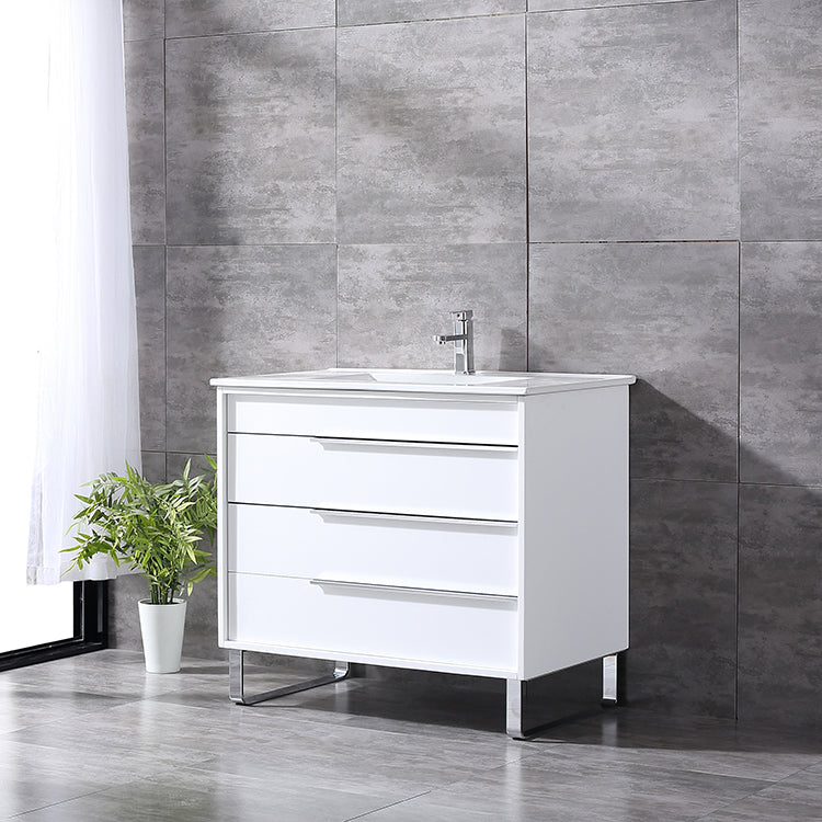 Vanitity Seamless Molded Porcelain W/ Sink - FaucetMart