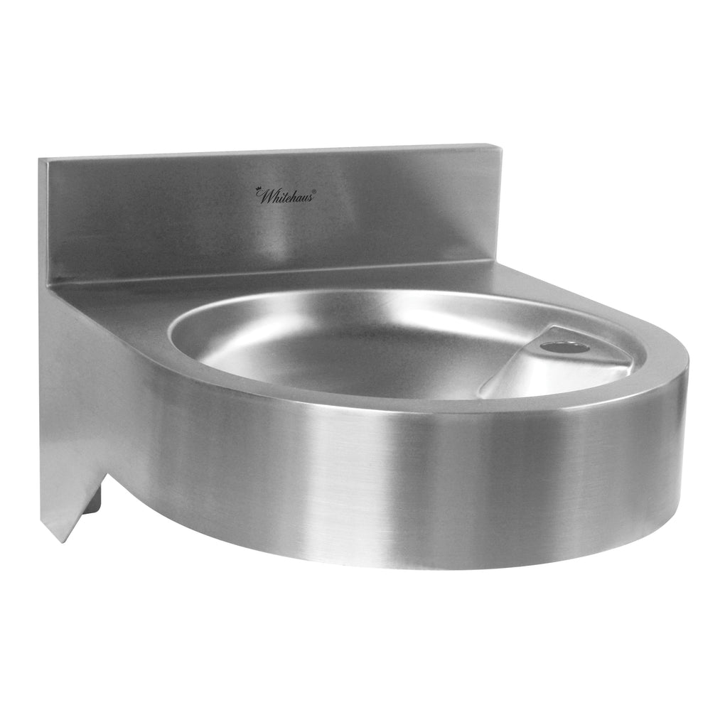 WHITEHAUSE WHNCDF1214 Noah's Collection Stainless Steel Commerical Wall Mount Drinking Fountain - FaucetMart
