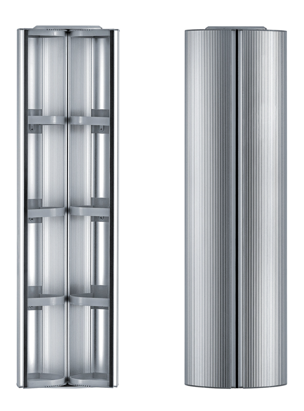 WHITEHAUSE WHRAX-48 Medicinehaus Double Door, Vertical Column, Wall Mount Storage Cabinet - FaucetMart