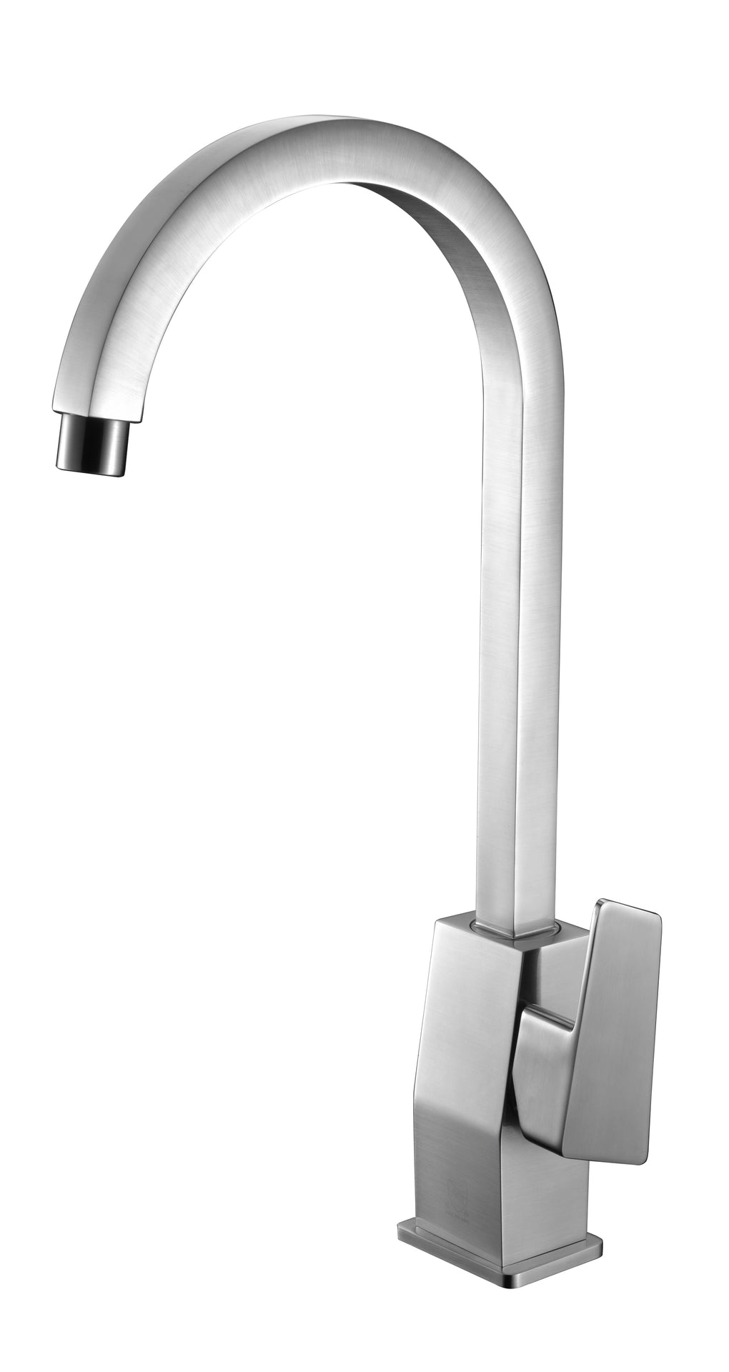 ALFI Gooseneck Single Hole Bathroom Faucet - FaucetMart