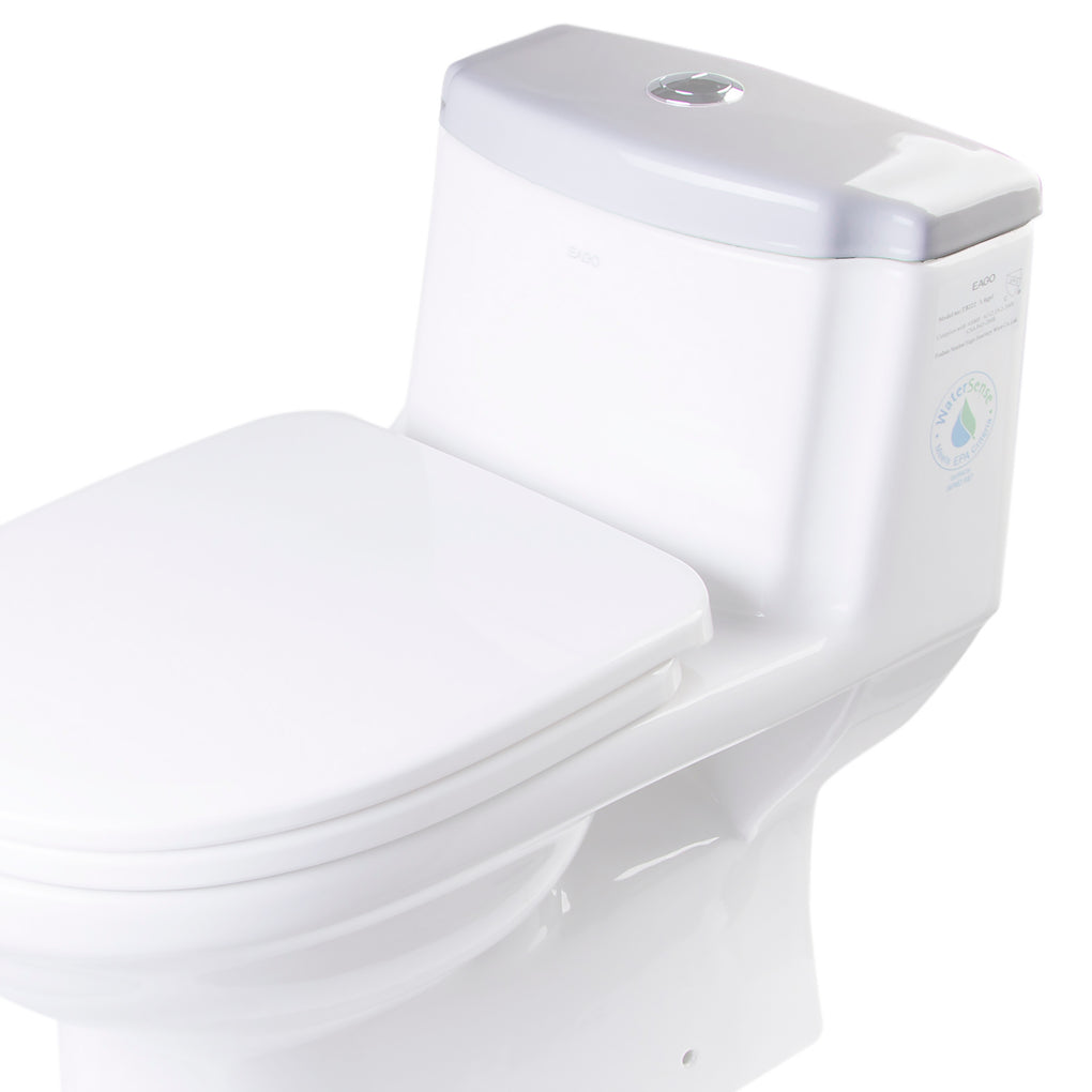 EAGO R-222LID Replacement Ceramic Toilet Lid for TB222 - FaucetMart