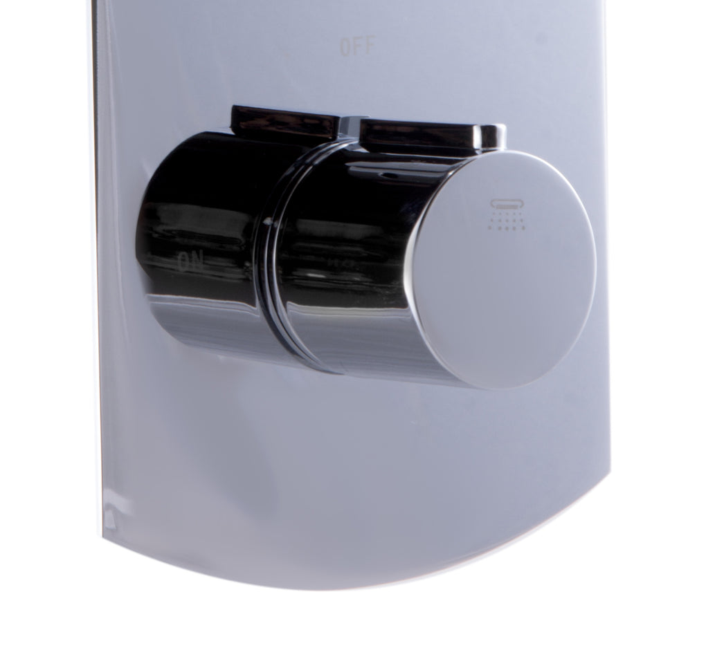ALFI Round 2 Way Thermostatic Shower Mixer - FaucetMart
