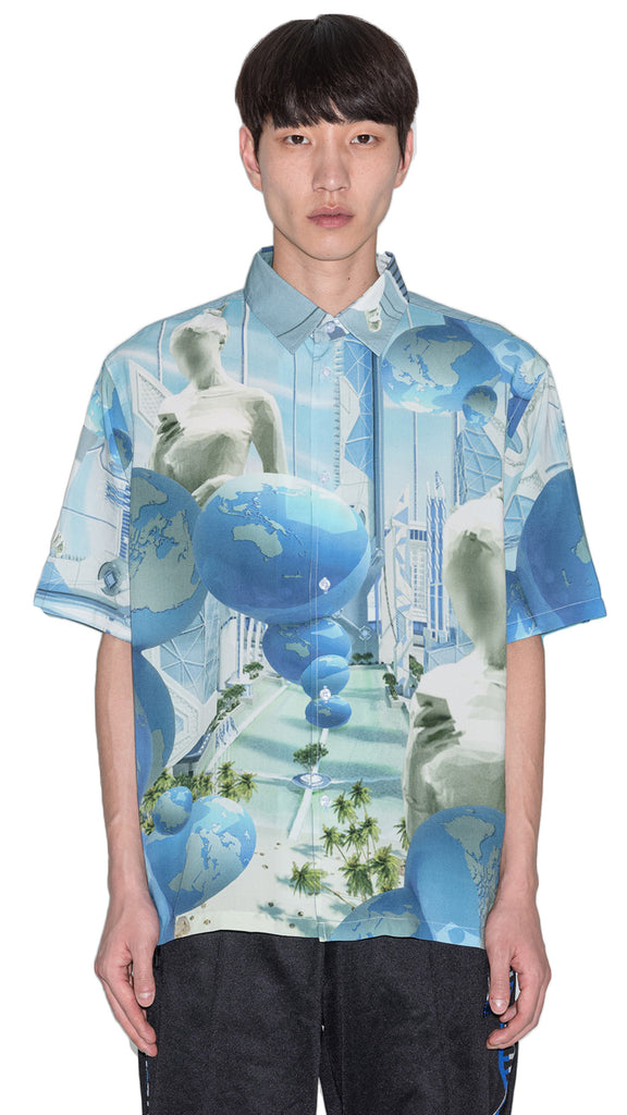 P.A.M. - BLUE PLANET SS SHIRT