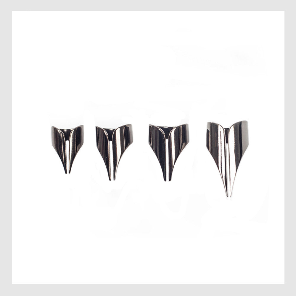 LaBoutik:ELLEN CONDE - SET OF RINGS - SILVER