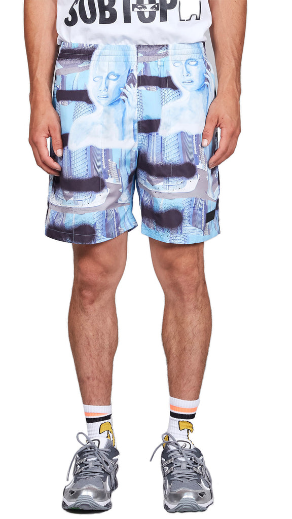 P.A.M. - LIFESTYLE ALIEN SWIM SHORTS