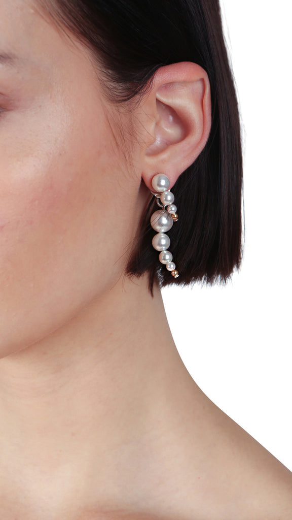 LINDER - PEARL EARRINGS