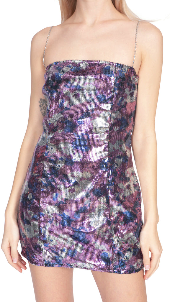 PARTY DRESS COLORFUL COLLINA STRADA