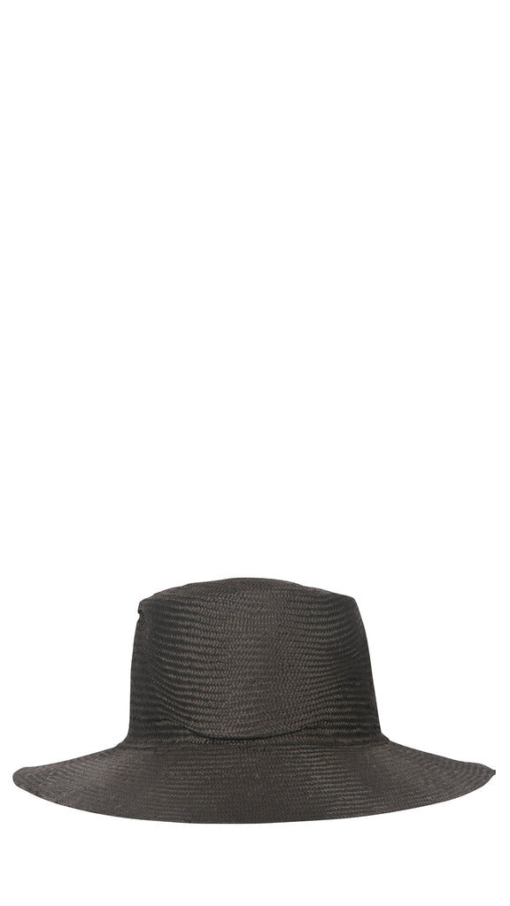 REINHARD PLANK - Black Circle Hat