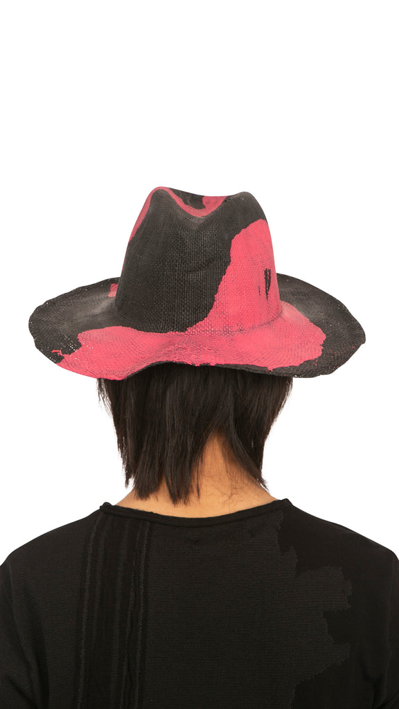 REINHARD PLANK - Red Splash Hat