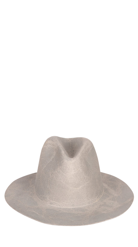 REINHARD PLANK - Grey Washed Hat