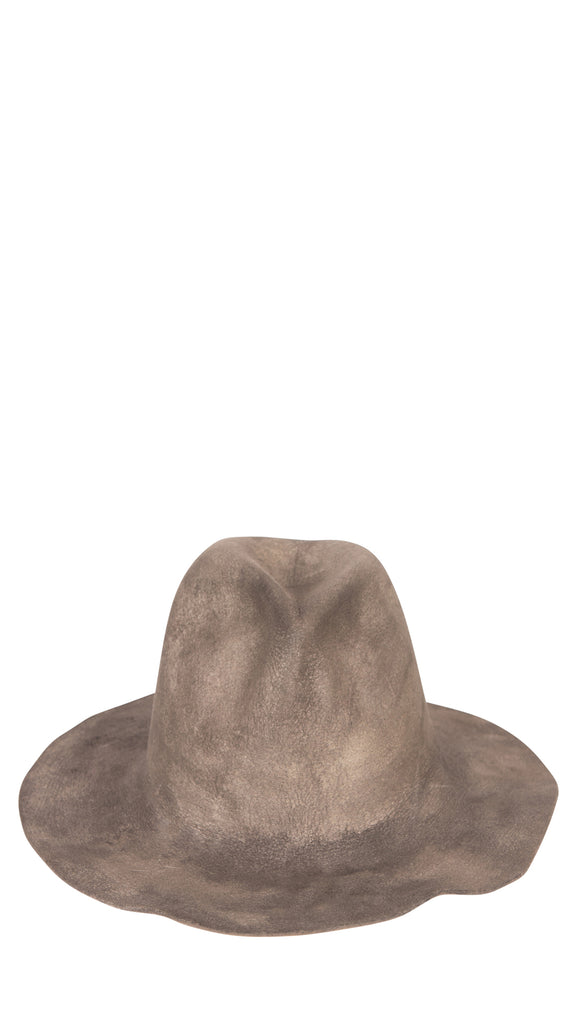 REINHARD PLANK - Black & Grey Washed Hat