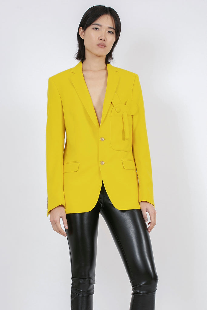 Sharp Pochette Blazer