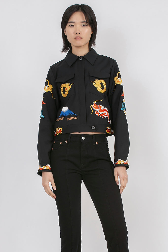 All Over Embroidery Jacket