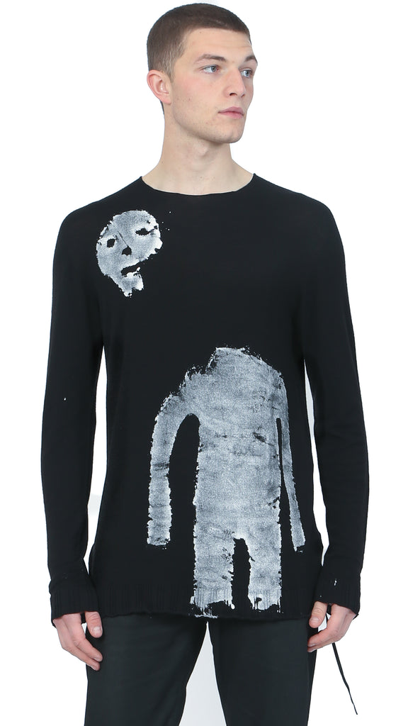 MD75 - Abstract Man Print Sweat