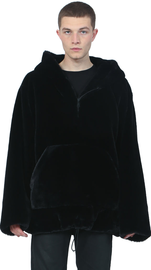 Nostra Santissima - Faux Fur Sweater