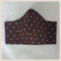 Simple prints medium sized face mask with filter pocket
