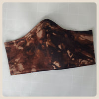 Large and medium sized abstract camo mask