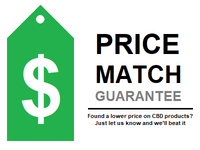Our CBD Price Match Logo