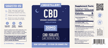 Load image into Gallery viewer, GUMMIES: NIGHTTIME - 30mg – 30 Count (NO THC)