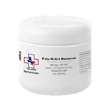 Load image into Gallery viewer, TOPICAL: LEVEL 2: Relief Ointment/Balm - 500mg - 60ml/2oz (NO THC)