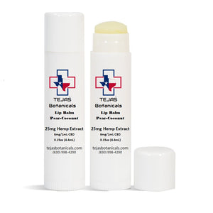 BODY: Lip Balm - 25mg - 4.4ml/0.15oz (NO THC)
