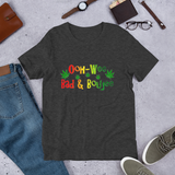 Ooh Wee, Bad and Boujee Cannabis T-Shirts. Short-Sleeve Women's T-Shirt.