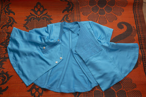 Adaptive blouse with snap fastener. Sizes 8-16