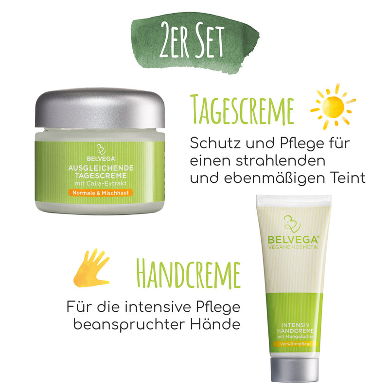 Verwöhnset Normale & Mischhaut (Tagescreme & Handcreme)