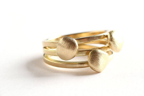 18K fairtrade gouden ring