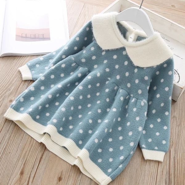 Polka Dots Full Sleeve Sweater