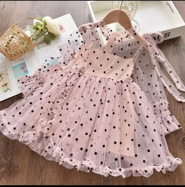 Polka-Dotted Vintage Dress