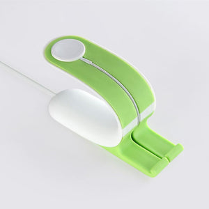 Carregador por contacto para smart watch, celular e tablet