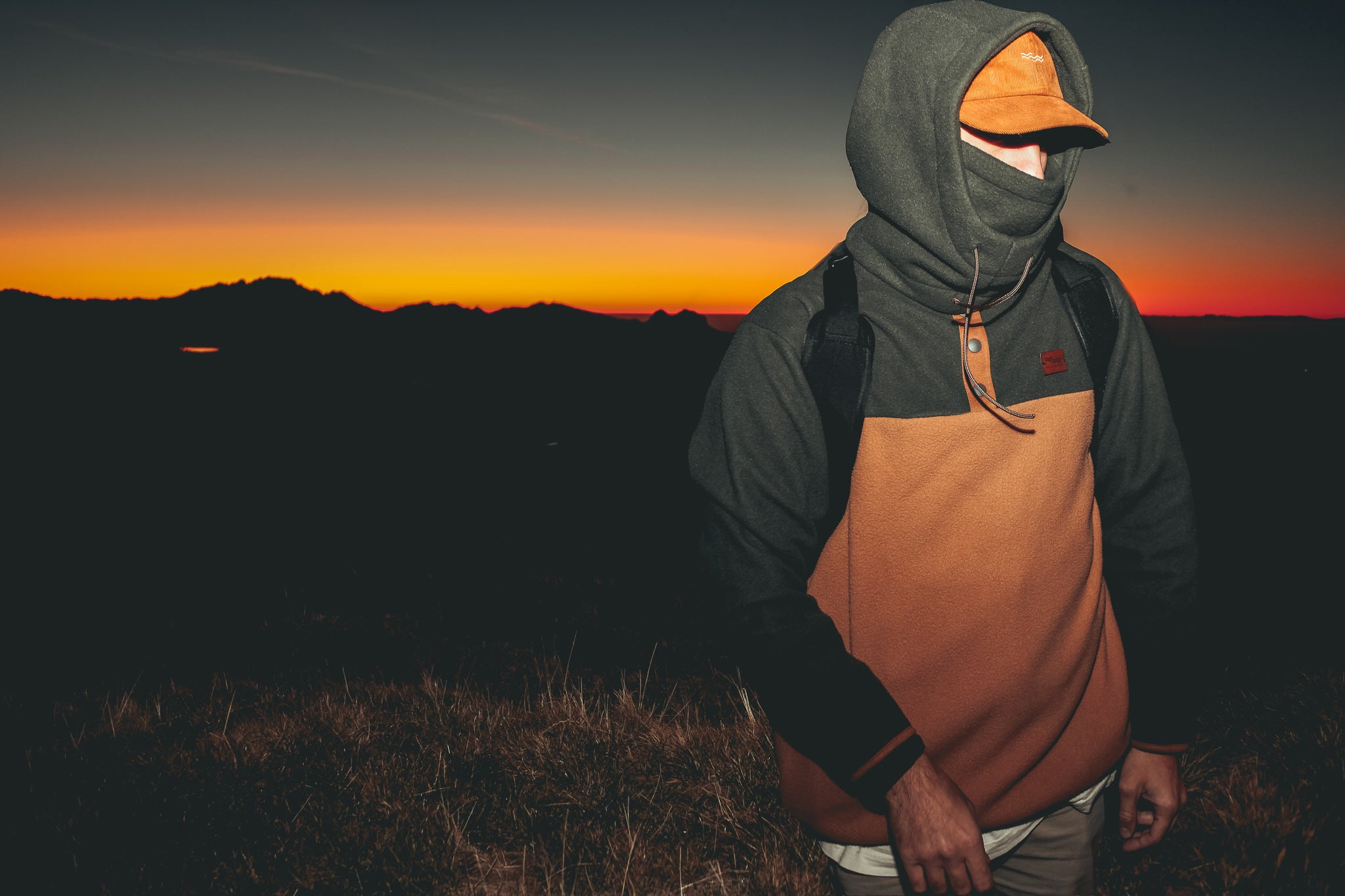 FOREST COMBO fleece + hood