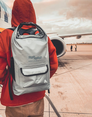 ICE GREY MELLOW BACKPACK