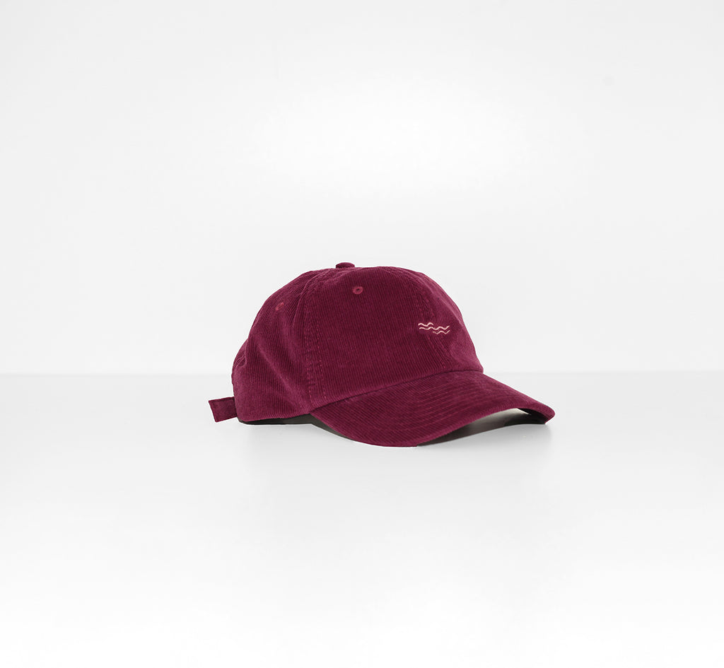 BURGUNDY MELLOW CAP