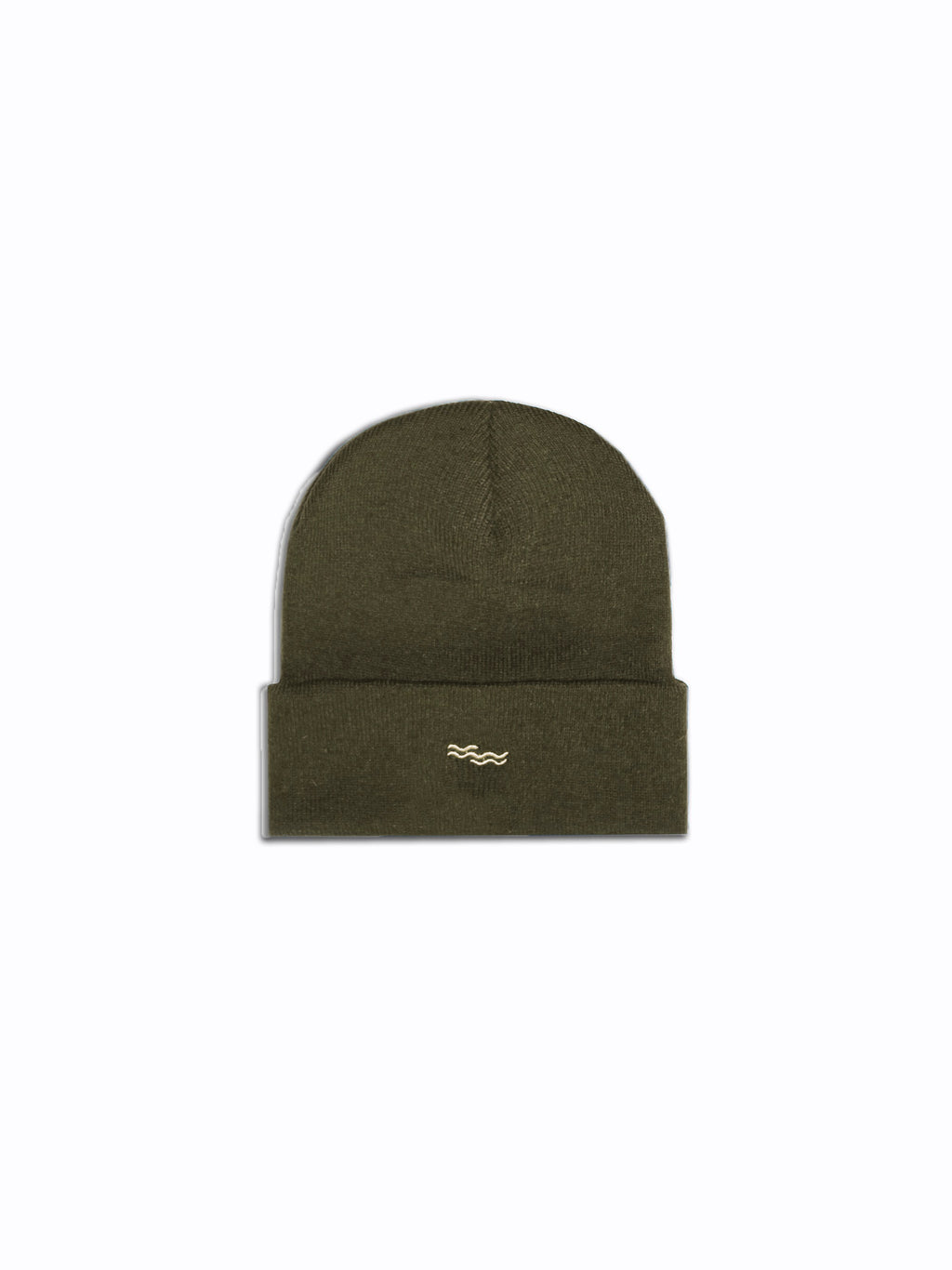 THE MILITARY GREEN BEANIE